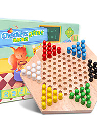 Board Game Chess Game Paternity Games Toys Large Size Wooden Pieces Not Specified Gift