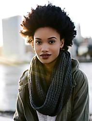 baratos -Encaracolado Afro 100% cabelo kanekalon Extensões de Cabelo Natural Afro Kinky Tranças Tranças de cabelo Diário