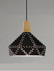 cheap -Geometric Pendant Light Ambient Light - Designers, 110-120V / 220-240V, Warm White, Bulb Not Included / 5-10㎡ / E26 / E27
