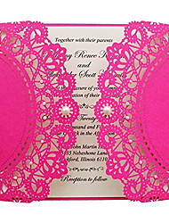cheap -Gate-Fold Wedding Invitations 50-Engagement Party Cards Invitation Cards Invitation Sample Mother's Day Cards Baby Shower Cards Bridal