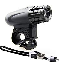 Передняя фара для велосипеда Светодиодная лампа Велоспорт Широко распространенный Антифрикционное Люмен USB Повседневное использование