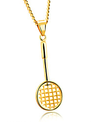 Hot item Mini badminton racket necklace fitness accessories