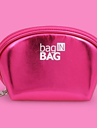 Women Bags All Seasons PU Storage Bag for Casual Fuchsia