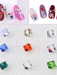 Недорогие -Уход Дизайн ногтей блестит / Хрусталь / Гламурный и эффектный Повседневные