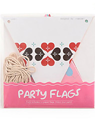 cheap -Holiday Decorations Toys Triangle DIY Party Kid's Pieces