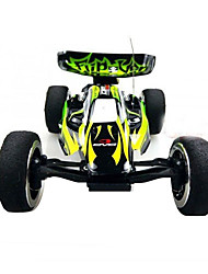 RC Car WL Toys 2307 4 Channel 2.4G Off Road Car High Speed 4WD Drift Car Buggy Go-kart 1:24 KM/H Variable Speeds Remote Control