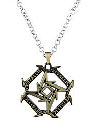 preiswerte -Herrn Damen Kreisform Geometrische Form Personalisiert Luxus Einzigartiges Design Anhänger Stil Retro Magnettherapie Seitwärts Beidseitig