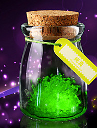 cheap -3PC  DIY Planting Luminous Wish Bottle Wishing Eco bottle Lovers Friends Students Gifts