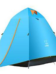 LINGNIU® 3-4 persone Tenda Doppio Tenda da campeggio Tende a igloo e canadesi Tenere al caldo Anti-pioggia per Campeggio e hiking