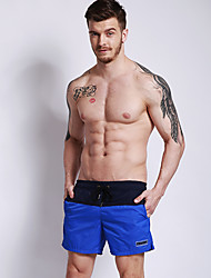 abordables -Hombre Pantalones de Natación Casual Algodón Ropa de playa Prendas de abajo Natación / Playa