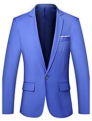 cheap -Men's Plus Size Blazer - Solid