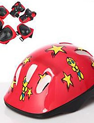 Kids Protective Gear for Mountain Cycling Road Cycling Cycling Ice Skating Skating Compression Vibration dampening Thick Safety Gear 1set
