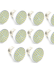 3.5 GU10 LED Spotlight MR16 60 leds SMD 2835 Decorative Warm White Cold White 300lm 3000/6500K AC 220-240V