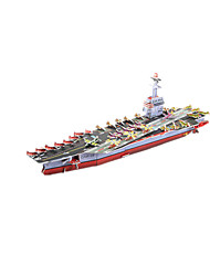 cheap -3D Puzzle / Model Building Kit Warship / Aircraft Carrier / Ship DIY High Quality Paper Classic Kid's Unisex / Boys' / Girls' Gift