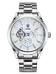 Per uomo Orologio alla moda orologio meccanico Cinese Carica automatica Calendario Resistente all'acqua Luminoso NottilucenteAcciaio