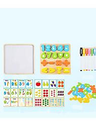 Недорогие -Конструкторы Пазлы Игрушки для обучения математике Обучающая игрушка Квадратный Cool Детские Игрушки Подарок