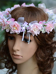 YUXIYING Little Roses Wedding Bridal  Child Bridal Head wreath  Flower Three Colors
