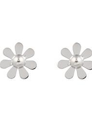cheap -Men's Women's Stud Earrings Jewelry Flower Style Flowers Geometric Floral Bohemian Adjustable Sideways Stretch Luxury Ferroalloy Flower