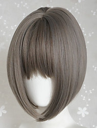 Sweet Lolita Short Straight Grey Lolita Wig