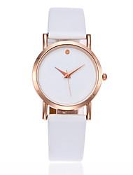 Недорогие -Жен. Детские Модные часы Китайский Кварцевый Повседневные часы PU Группа Кулоны минималист Elegant Черный Белый