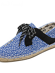 cheap -Men's Shoes Knit Cotton Summer Fall Light Soles Espadrilles Moccasin Sneakers Draping Gore Split Joint for Casual Office & Career Party &