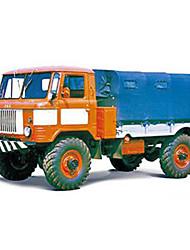 abordables -Coches de juguete Puzzles 3D Maqueta de Papel Camión Juguetes Cuadrado Camioneta Cuadriga Papel duro No Especificado Piezas