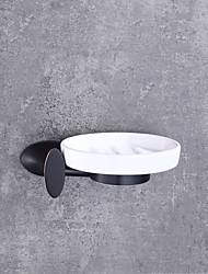 cheap -Soap Dishes & Holders High Quality Modern / Contemporary Metal 1 pc - Hotel bath Wall Mounted