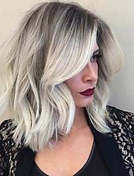 Новый тип частичный чехол ombre цвет натуральный вьющийся человеческий парик волос