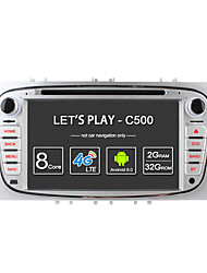 Ownice c500 núcleo octa 32gb rom 2gb ram android 6.0 gps radio navi para ford focus mondeo s-max galaxia tourneo conectar soporte de