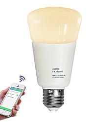 E26/E27 LED Globe Bulbs 720 lm Warm White Cold White 2700-6500 K Dimmable Remote-Controlled AC110-240 V