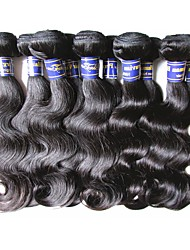 cheap -Peruvian Hair Body Wave Human Hair Natural Color Hair Weaves Human Hair Weaves Human Hair Extensions