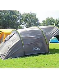 3-4 Personen Zelt Autovorzelt Einzeln Camping Zelt Einzimmer Falt-Zelt Regendicht Staubdicht für Camping & Wandern 2000-3000 mm Aluminium