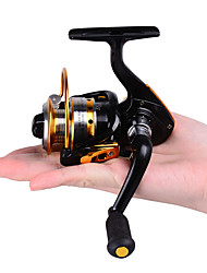 cheap -HiUmi MINI Small Fishing Reels 10bb 5.21 Carretilha Pesca Fly Fishing Wheel Spinning Reel Metal 150 Size Reel