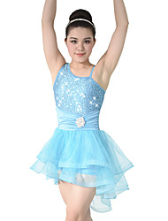 cheap -MiDee Adults' Children Dance Dancewear Front Short Back long Adults' Children Girls Ballet Dance Dresses