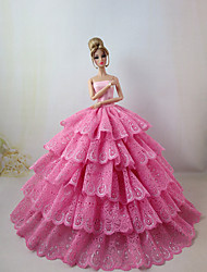 Party/Evening Dresses For Barbie Doll Phoenix Tail Dress For Girl's Doll Toy