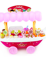 cheap -Ice Cream Cart Toy Toy Cars Toy Food / Play Food Pretend Play Toys Ship Ice Cream Simulation Plastics Plastic Children's 1 Pieces
