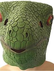 cheap -Halloween Masks Animal Mask Toys Dinosaur Lizard Glue Horror Pieces Unisex Gift