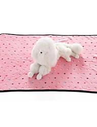 abordables -Gato Perro Camas Mascotas Mantas Gris Azul Rosa Para mascotas