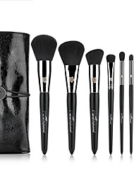 cheap -MSQ Professionelle 8 stcke Make-Up Pinsel Set Kupferhlse Powder Foundation Lidschatten Eyeliner Lippenpinsel-werkzeug Mit PU Fall