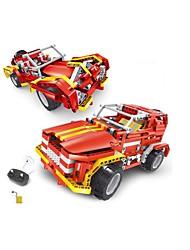 Недорогие -Игрушечные машинки Конструкторы Радиоуправление Обучающая игрушка Игрушки Автомобиль Пульт управления Своими руками Детские Куски