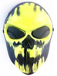 halloween creativo cranio spaventoso fantasma maschera wargame capo tattico cs cosplay camouflage nero maschera antincendio carnaval