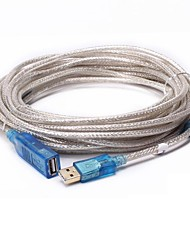 economico -USB 2.0 Prolunga, USB 2.0 to USB 2.0 Prolunga Maschio/femmina 25,0 milioni (80ft)