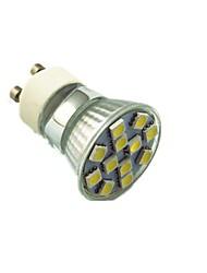 cheap -1.5W GU10 LED Spotlight 12 leds SMD 5050 Decorative Warm White Cold White 130lm 2800-7000K AC220V