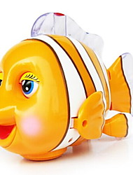 Недорогие -Игрушка с заводом Игрушки Рыбки клоун Пластик Куски Универсальные Подарок