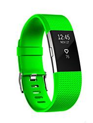 Недорогие -Для fitbit заряда 2 диапазона силиконовые регулируемые замены фитнес спорта ремень полосы браслет