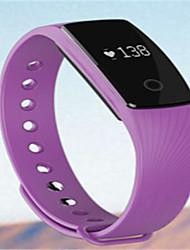 Per uomo Smart watch Orologio alla moda Digitale Silicone Banda Nero Blu Arancione Verde Viola