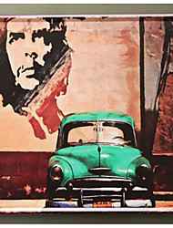 Недорогие -Декор стены Железо Винтаж Предметы искусства, Металлические украшения на стену из 1