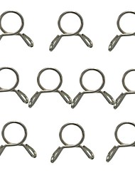 cheap -10Pcs 7-9mm Fuel Line Hose Tubing Spring Clip Clamp Motorcycle Boat ATV Scooter