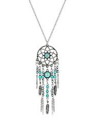 Women's Pendant Necklaces Chain Necklaces Jewelry Geometric ResinBasic Tassel Gothic Cute Style Handmade Fashion Vintage Bohemian Punk