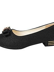 Women's Sandals Comfort Spring Summer PU Casual Low Heel Gold Black Silver Under 1in